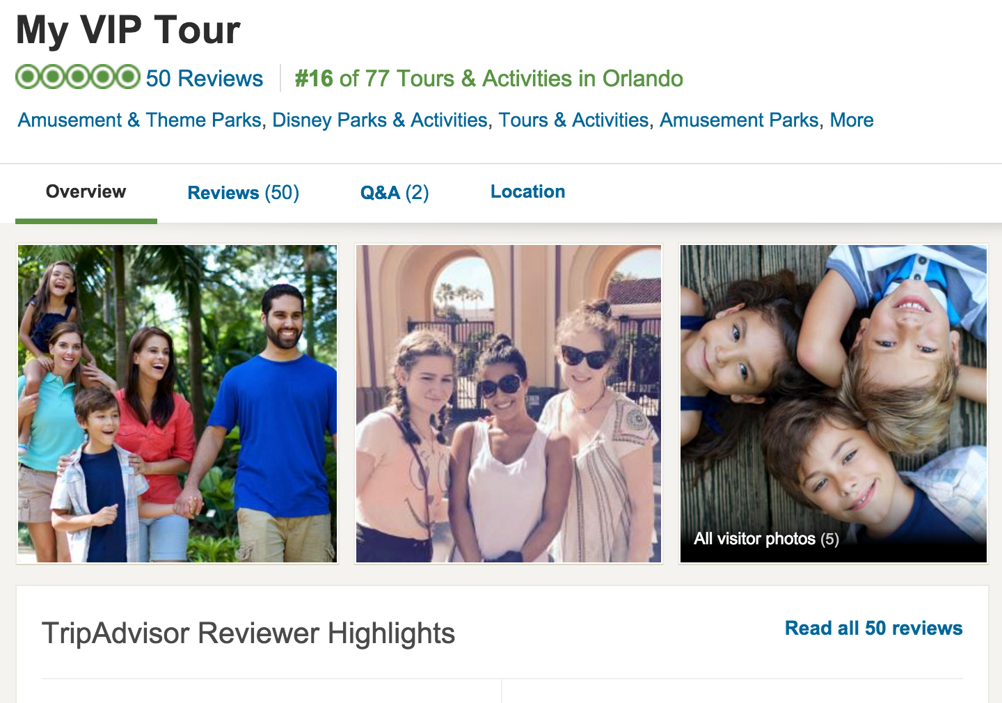 Need 50 more reasons why you should book your Orlando Disney Vacation with My VIP Tour?