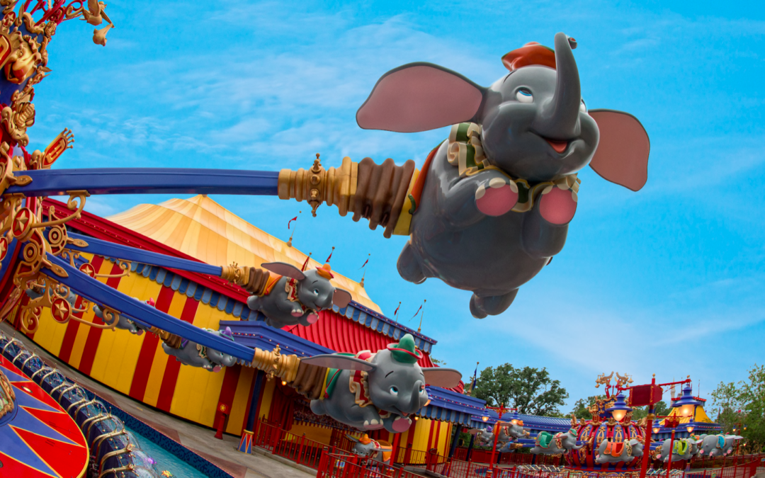 Top 5 Rides for Toddlers at Disney World